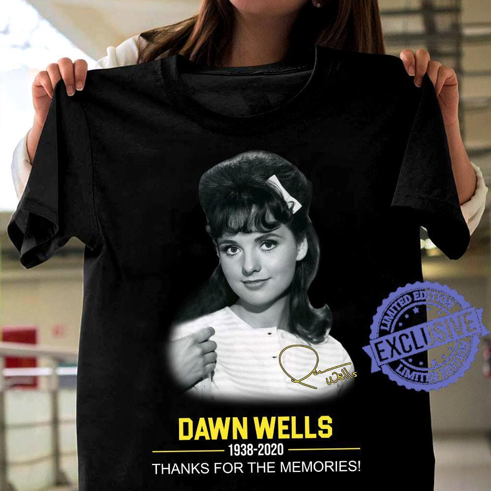 Dawn wells 1938 2020 thank you for the memories shirt
