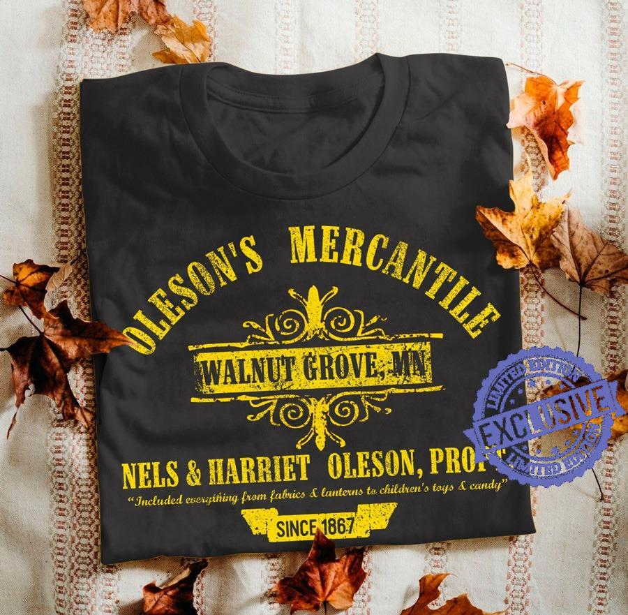 Oleson's mercantile walnut grove mn nels harriet oleson propt shirt