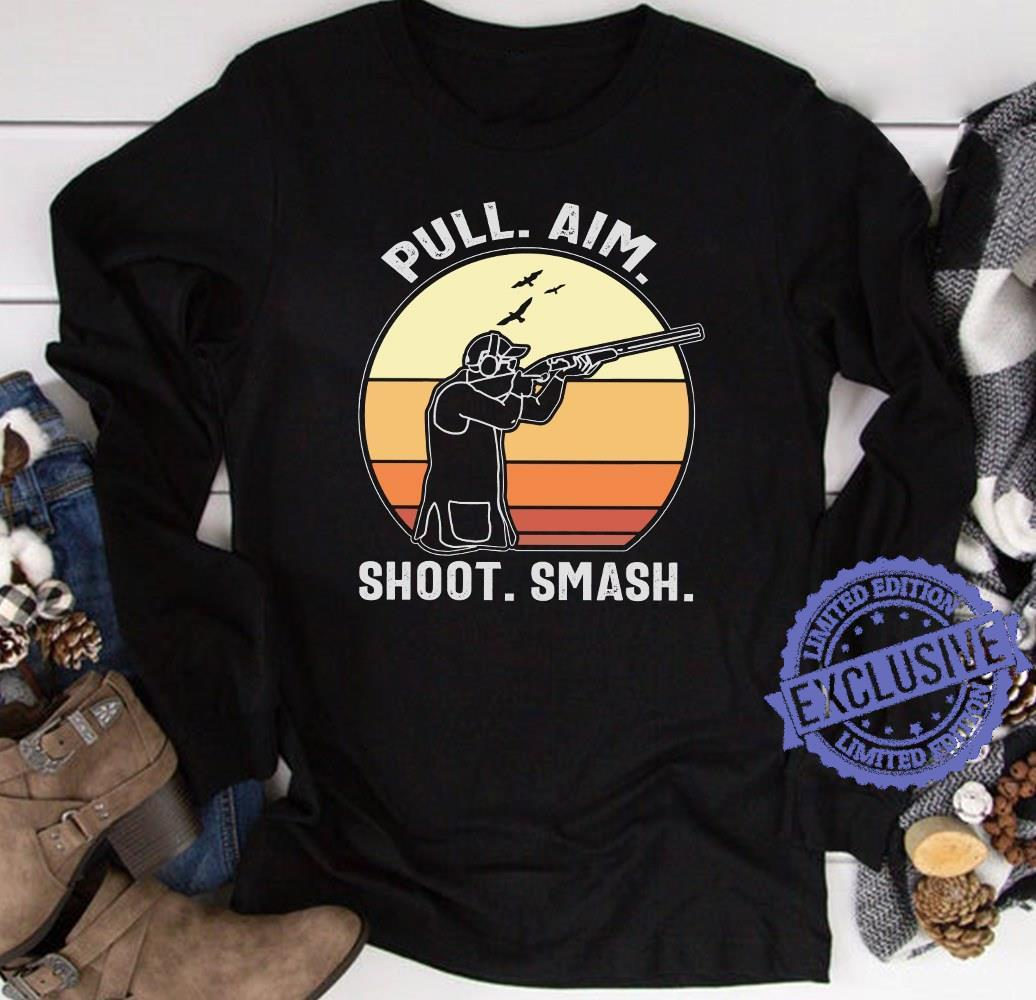 Pull aim shoot smash shirt