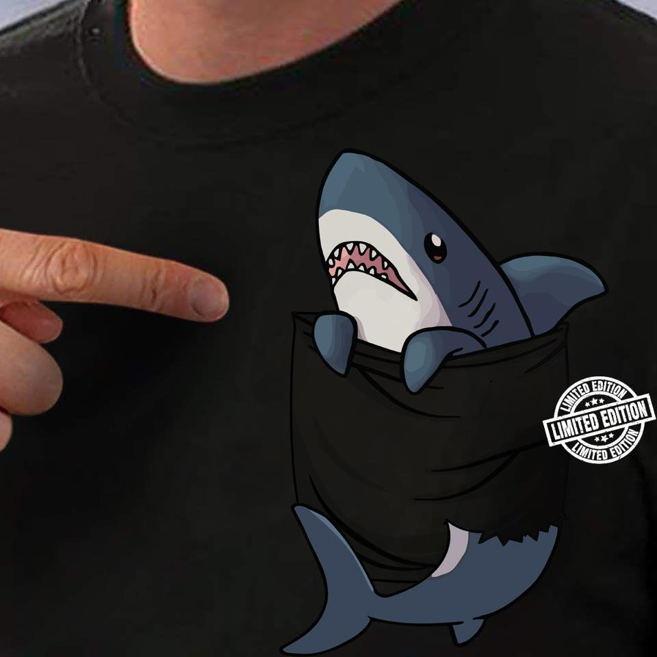 Shark In Pocket shirt