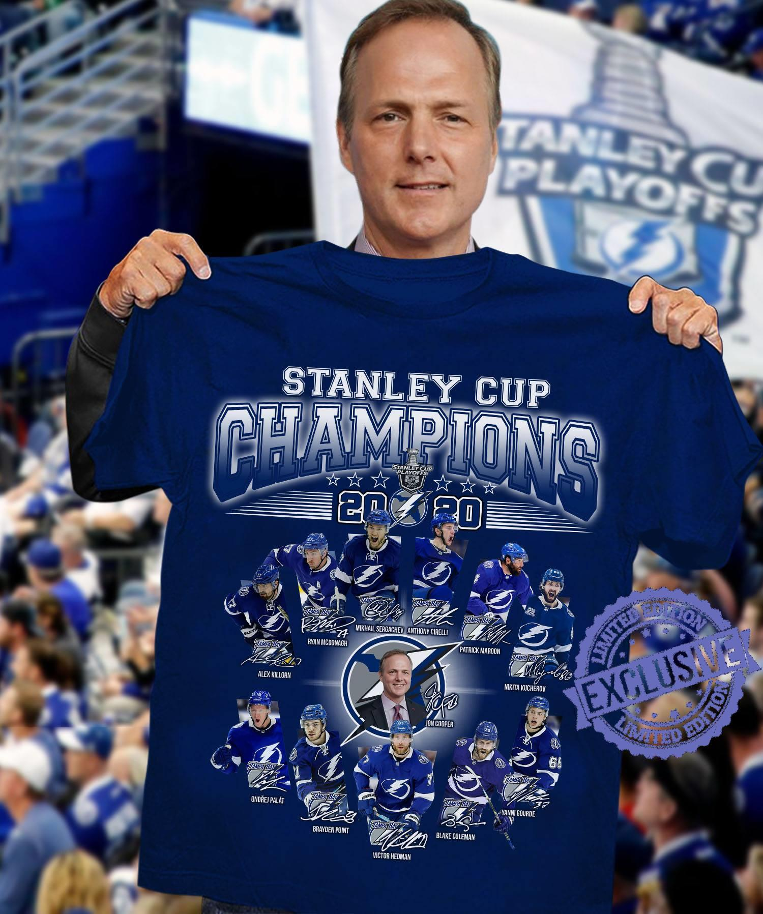 Stanley cup champions 2020 shirt